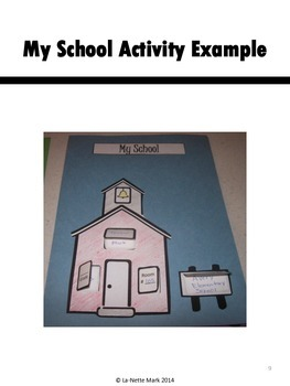 First Week of School - All About Me Interactive Booklet