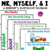 Me, Myself, & I  Interactive Notebook
