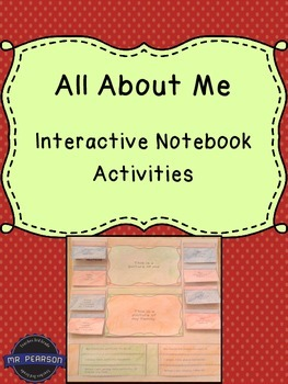 All About Me - Interactive Notebook or Poster Activities