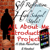 All About Me Introduction Booklet For Google Slides: High