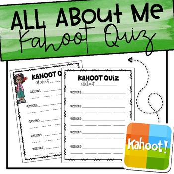 All About Me Kahoot Quiz