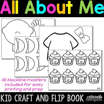 All About Me Craft Kid - Back to School Activities