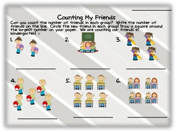 All About Me Activities for Kindergarten