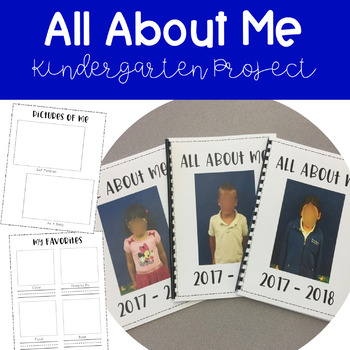 All About Me - Kindergarten Project