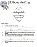 All About Me Kites- Getting to know your students - Follow Directions Activity
