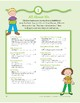 All About Me: Language and Math Activities