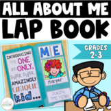 All About Me Lap Book:  A Back To School Project