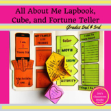 All About Me Lap Book | Second and Third Grade
