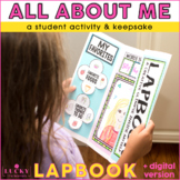 All About Me Lapbook | Digital and Printable Versions | Ba