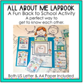 All About Me Lapbook  Back to School