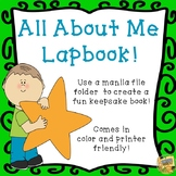 All About Me Lapbook - Fun writing activity!