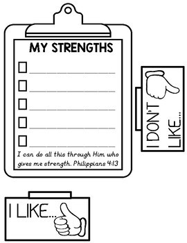 All About Me Lapbook {With Scripture}