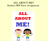 All About Me Learning Strategies Activity