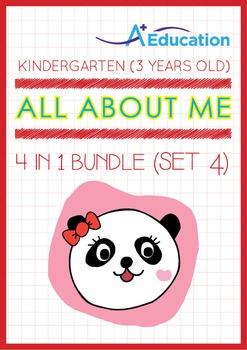 4-IN-1 BUNDLE - All About Me (Set 4) - Kindergarten, K1 (3