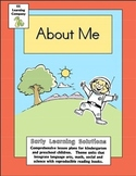 All About Me Litearcy and Math