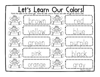 All About Me Literacy & Math Pack
