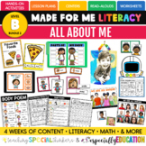 All About Me (Made For Me Literacy 2)