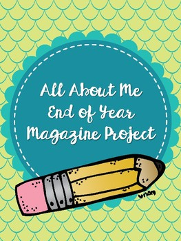 All About Me Magazine Final Project
