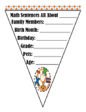 All About Me, Math Banner