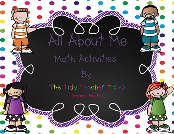 All About Me Math FREEBIE!