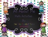 All About Me Math FREEBIE!