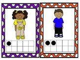 All About Me Math Frame Cards
