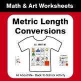 All About Me Math: Metric Length Conversions {Back To School}