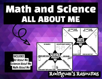 All About Me - Math and Science