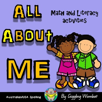 All About Me Math and Literacy PreK
