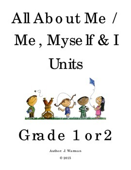 All About Me / Me, Myself & I Units