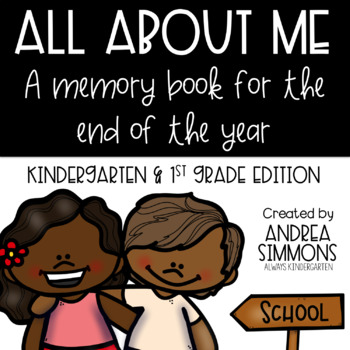 All About Me Memory Book