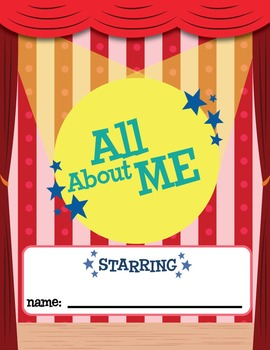 All About Me Memory Book for First Day of School