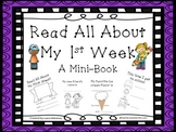 All About Me Mini Book 1st week