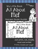 All About Me Mini Book