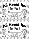 All About Me! Mini Book {Beginning of the Year} {End of Ye