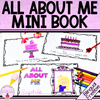 All About Me Mini Book Freebie