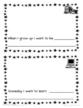 All About Me Mini Book Templates