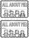 All About Me Mini Book (UK, Australia)