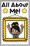All About Me Mini Booklets