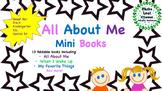 All About Me Mini Books