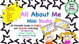 All About Me Mini Books  BUNDLE - English and Spanish - ESL,Bilingual