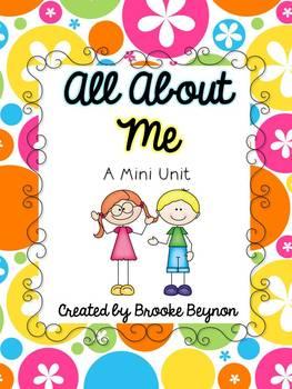 All About Me - Mini Unit