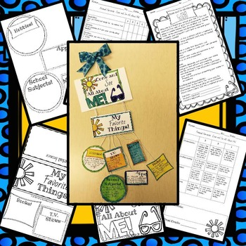 Back to School: All About Me Mobile and Personal Narrative Writing Craftivity