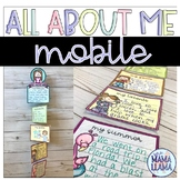 All About Me Mobile First Day of School Activity