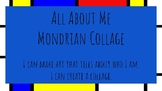 All About Me: Mondrian Collage Lesson Slides