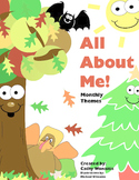 All About Me Monthly Themes