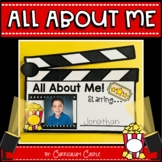 All About Me Book {Hollywood Movie Theme Writing Craftivity}