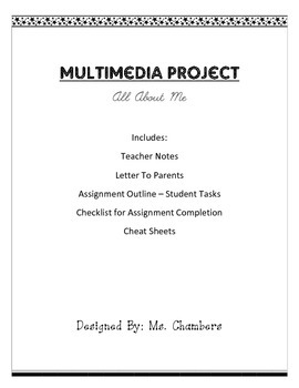 All About Me Multimedia Project
