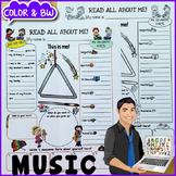 Music All About Me Poster