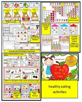 All About Me, My Body, Feelings, 5 Senses & Healthy Eating BUNDLE MEGA PACK